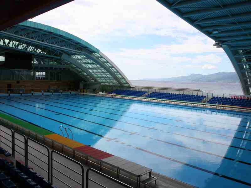 1 olympic pool 1 indoor swimming pool rijeka sport for Olympic swimming pool pictures
