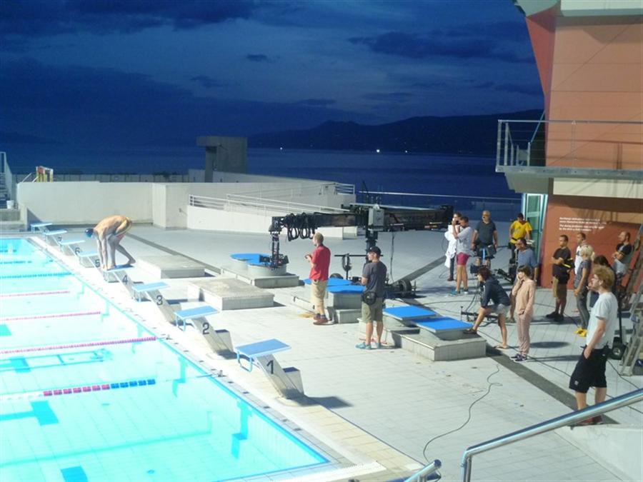 Swimming Pool Marketing : Swimming pools kantrida in advertising campaign for world
