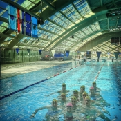French swimmers 39 training camp at swimming pools kantrida for Paris public pool